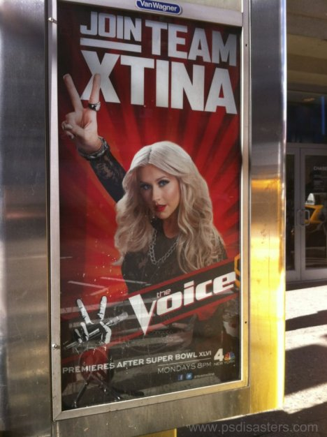 the voice Xtina