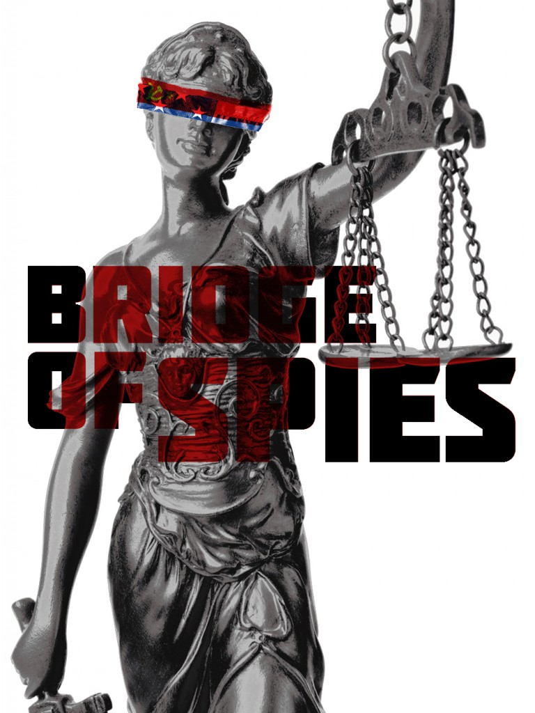 Bridge of Spies – Der Unterhändler (Inspiration: Sots Art movement) von Jordan Roland