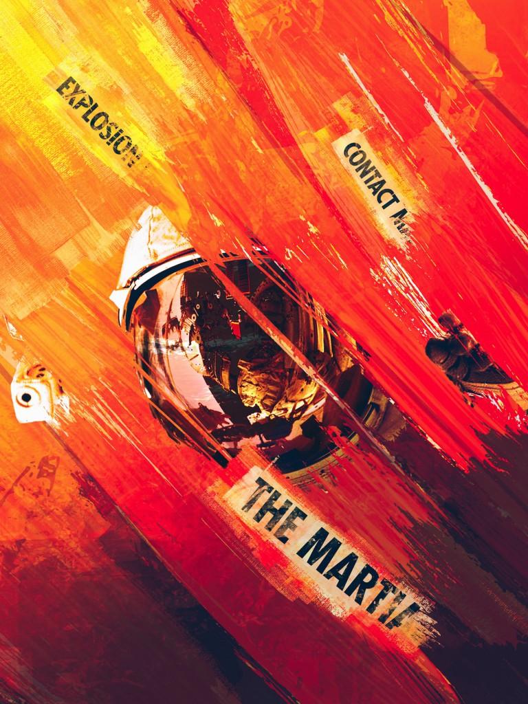 Der Marsianer – Rettet Mark Watney (Inspiration: Mario Corea Aiello) von Brandon Lee