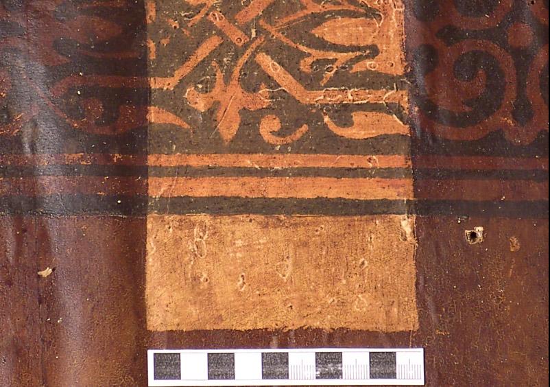 Freilegungskarree Fladerpapier mit Bordüre