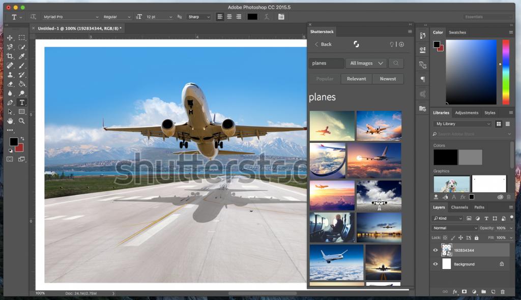 shutterstock-adobe-photoshop-plug-in Adobe Photoshop®