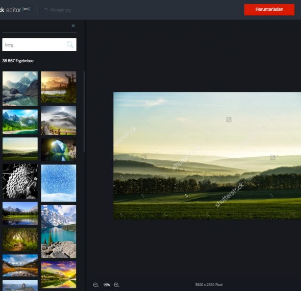 Shutterstock Editor_step by step_2