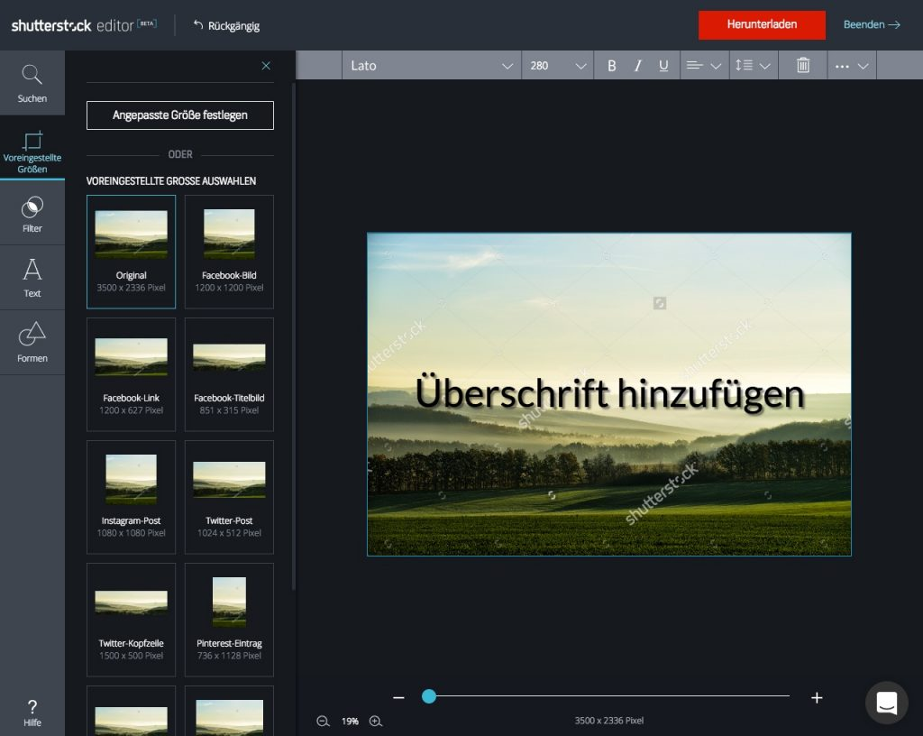 Shutterstock Editor_step by step_3