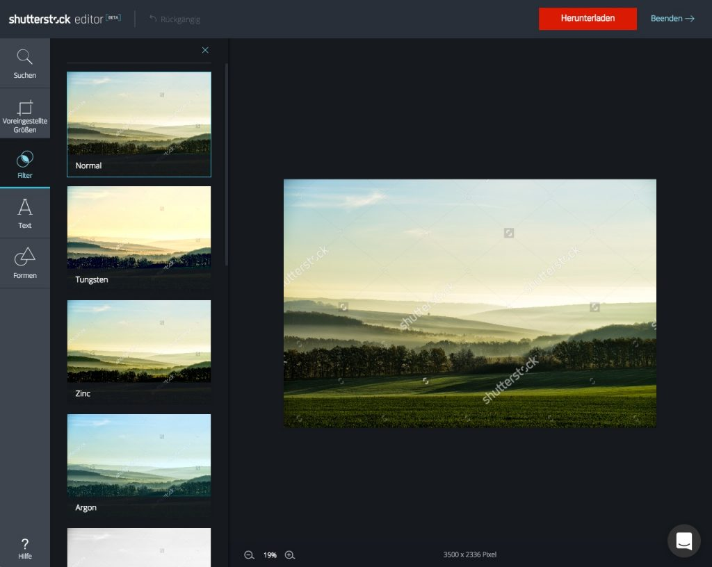 Shutterstock Editor_step by step_4
