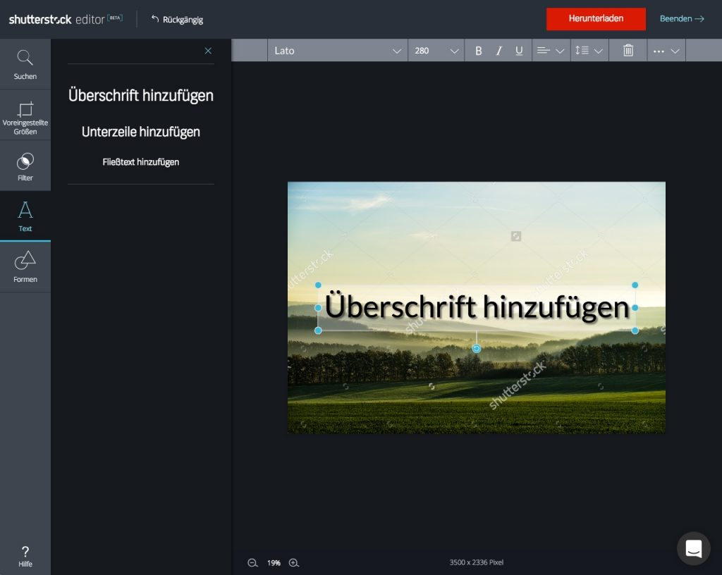 Shutterstock Editor_step by step_5