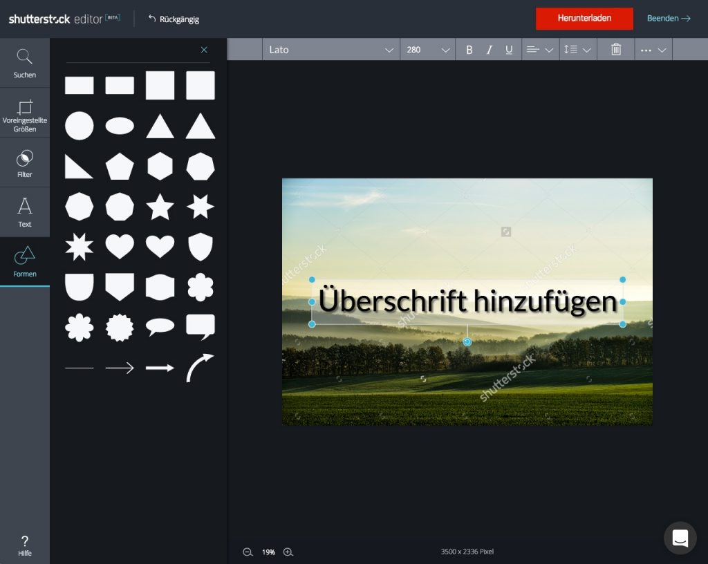Shutterstock Editor_step by step_6
