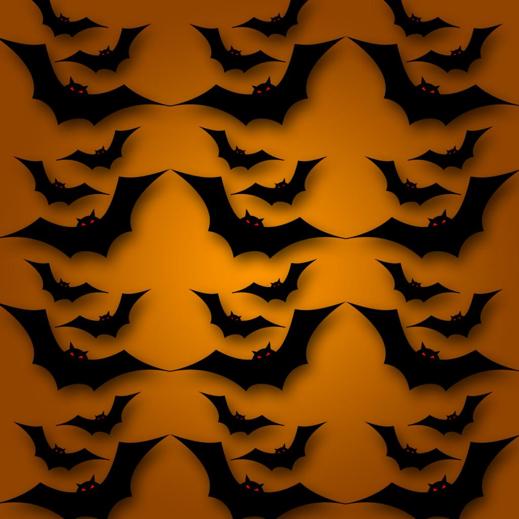 Halloween Textures bats