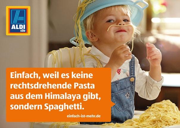 aldi spaghetti