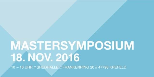 Designkrefelder Mastersymposium