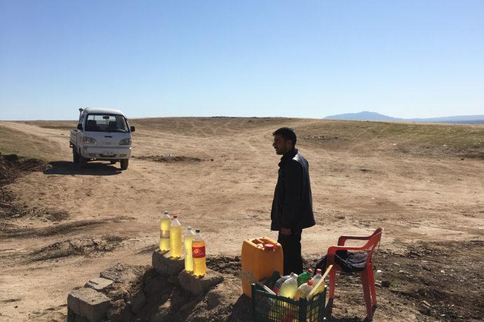 Petrol Station Iraq Kurdistan, 2016 Foto Stephan Pramme