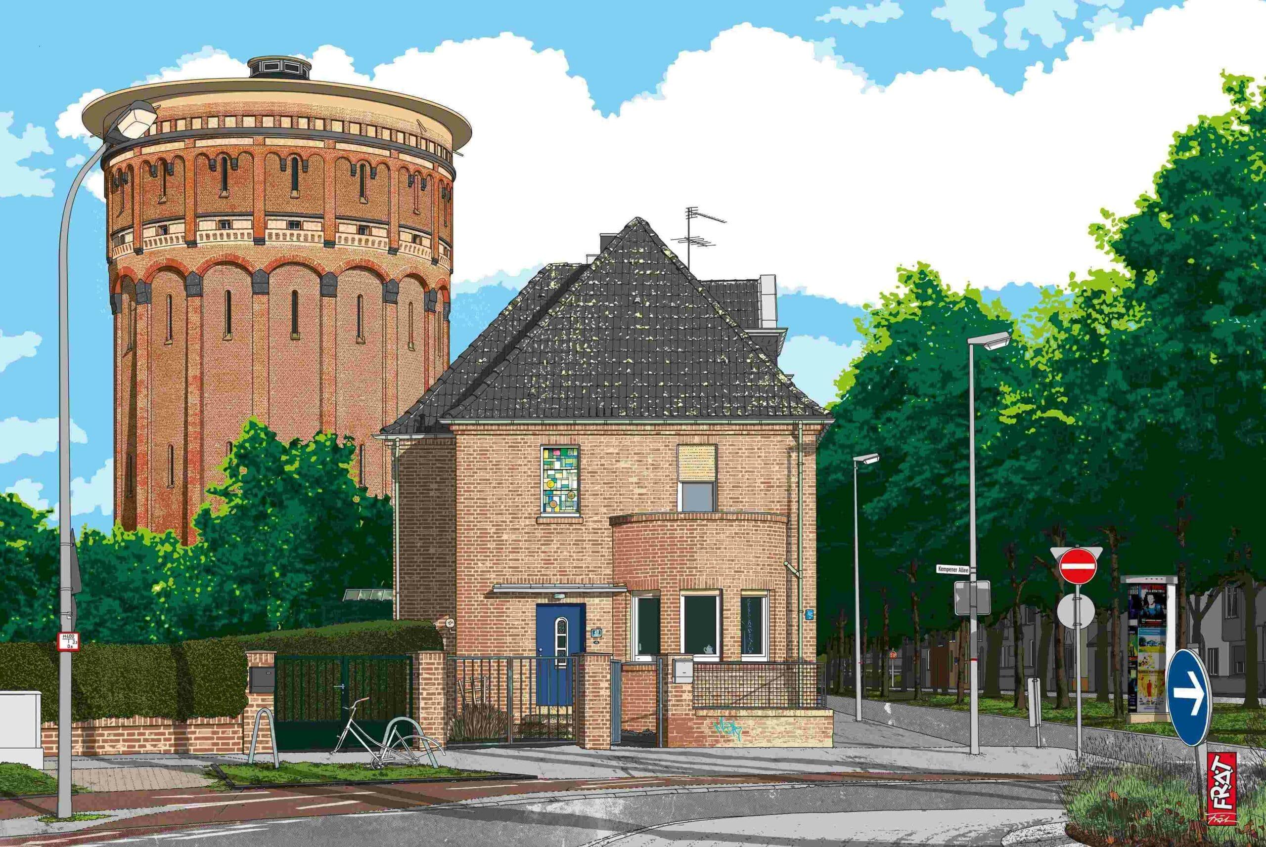 Architektur Krefeld