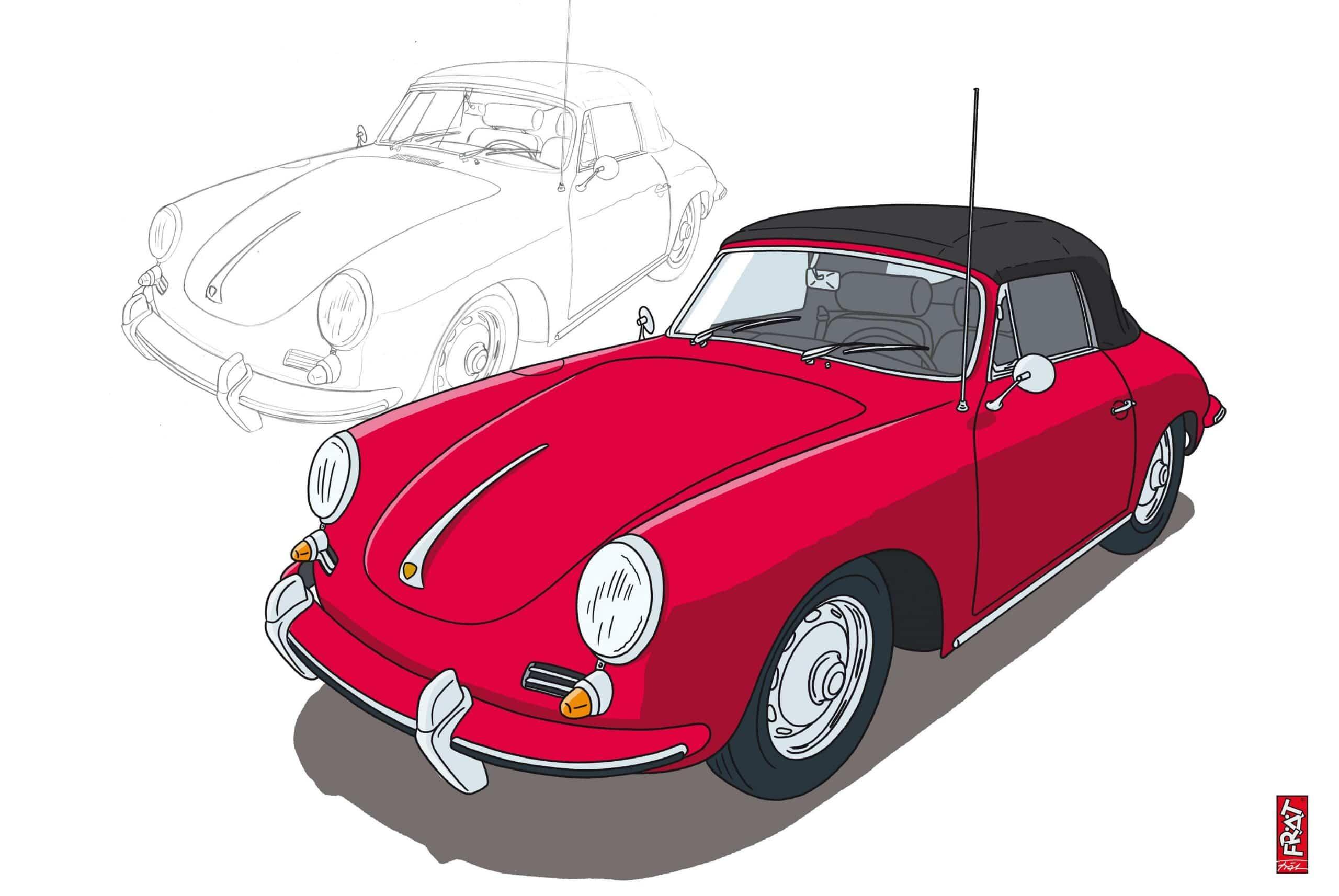 Skizze Auto