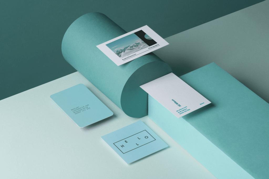 Moo Neue Design Visitenkarten Designbote