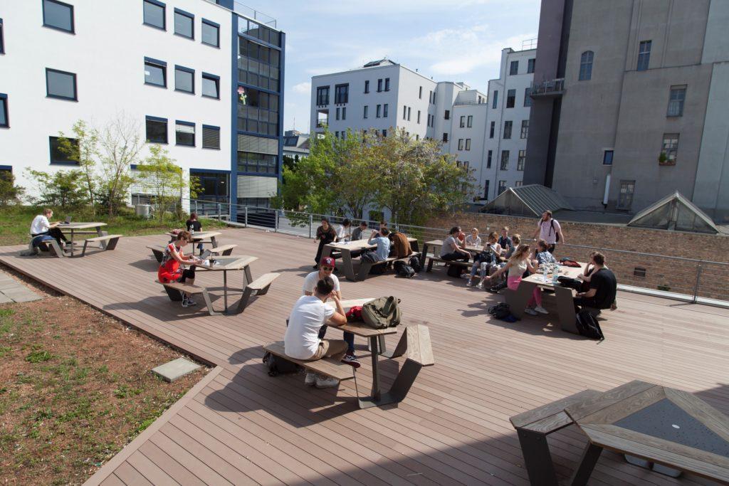 Terasse Campus-Berlin