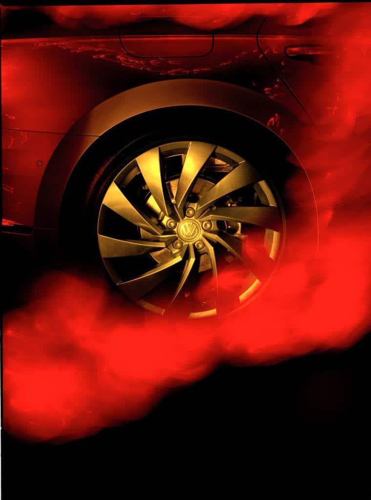 Pete Eckert - Burningrubber / Volkswagen Arteon