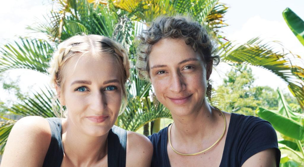 Anna-Maria Wittmann und Daniela Schmitz
