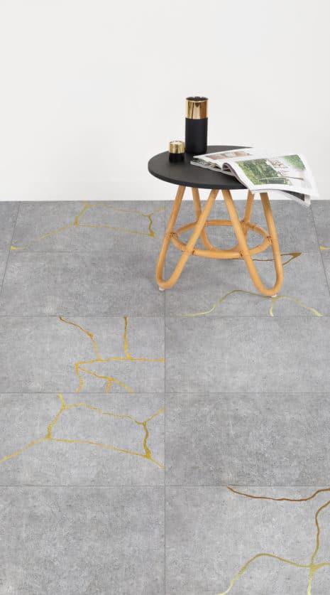 Kintsugi Concrete Lifestyle Web