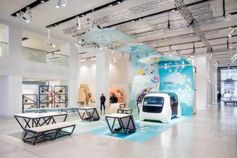 Volkswagen er ffnet nachhaltigkeits ausstellung shift in for Produktdesign berlin studium