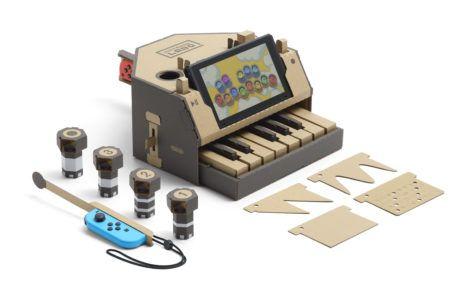 Nintendo Labo Klaviatur