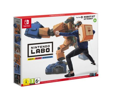 Nintendo Labo Packaging
