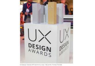 UX Design Awards 2018