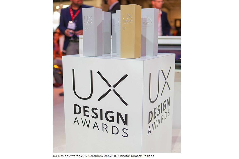UX Design Awards 2018