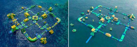 2018 Wibit aufblasbarer-Wasserpark Negativ-Preis Plagiarius