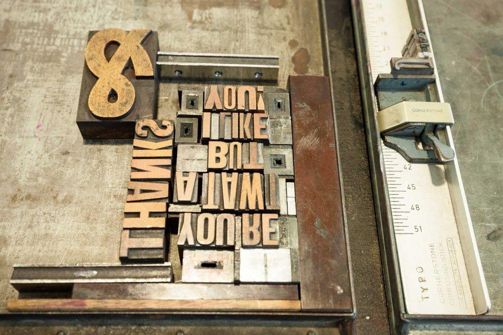 Letter - Typographie