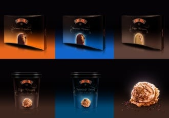 HAJOK Design: Baileys als Eis – am Stiel oder in 500-ml-Bechern