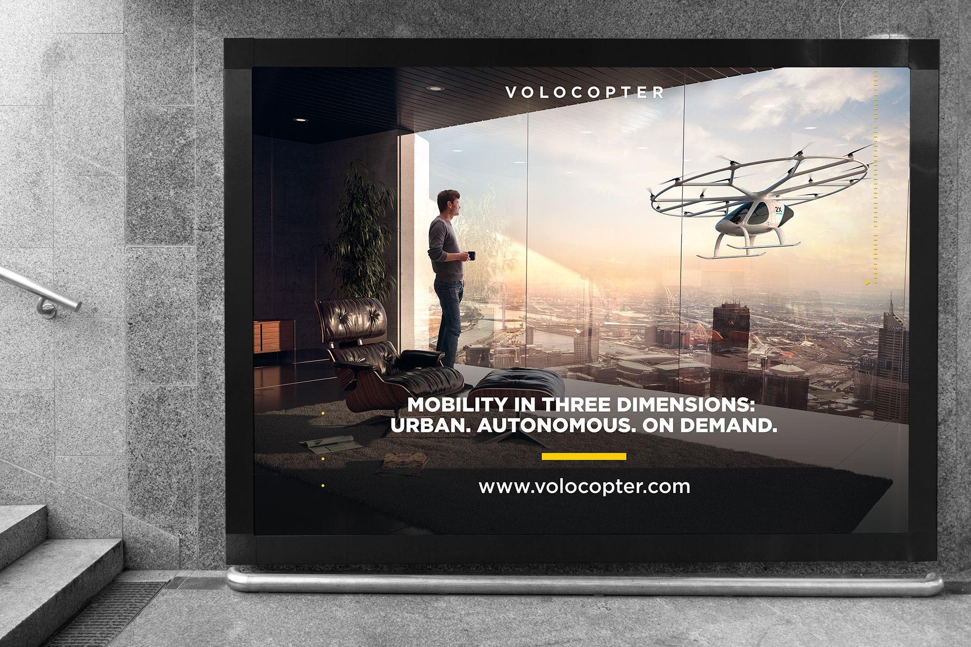 Volocopter Plakat