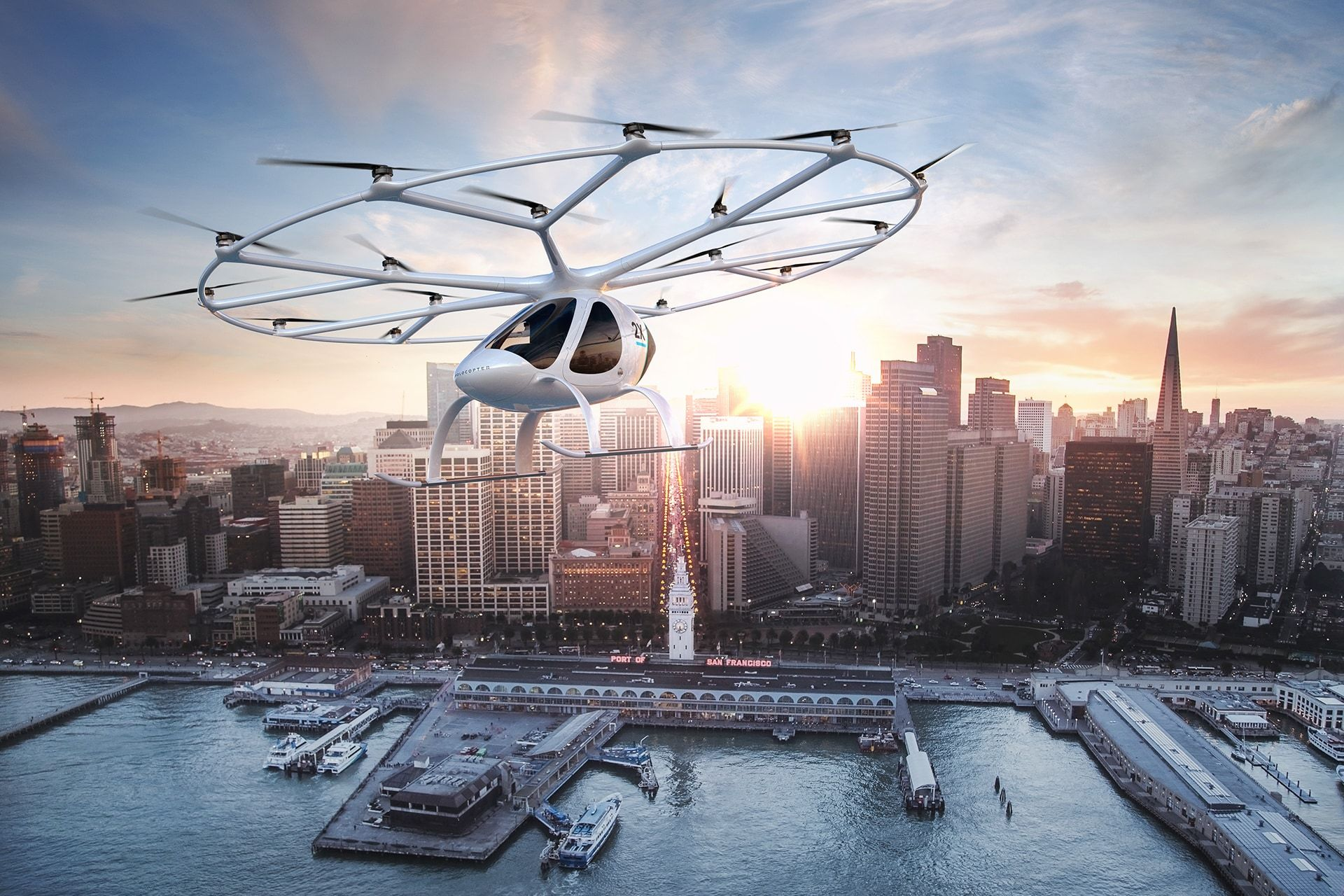 Volocopter in Aktion