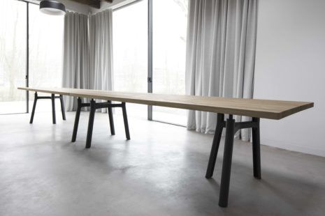 Arco Trestle Table XL Jorre van As Ambiente Salone del Mobile