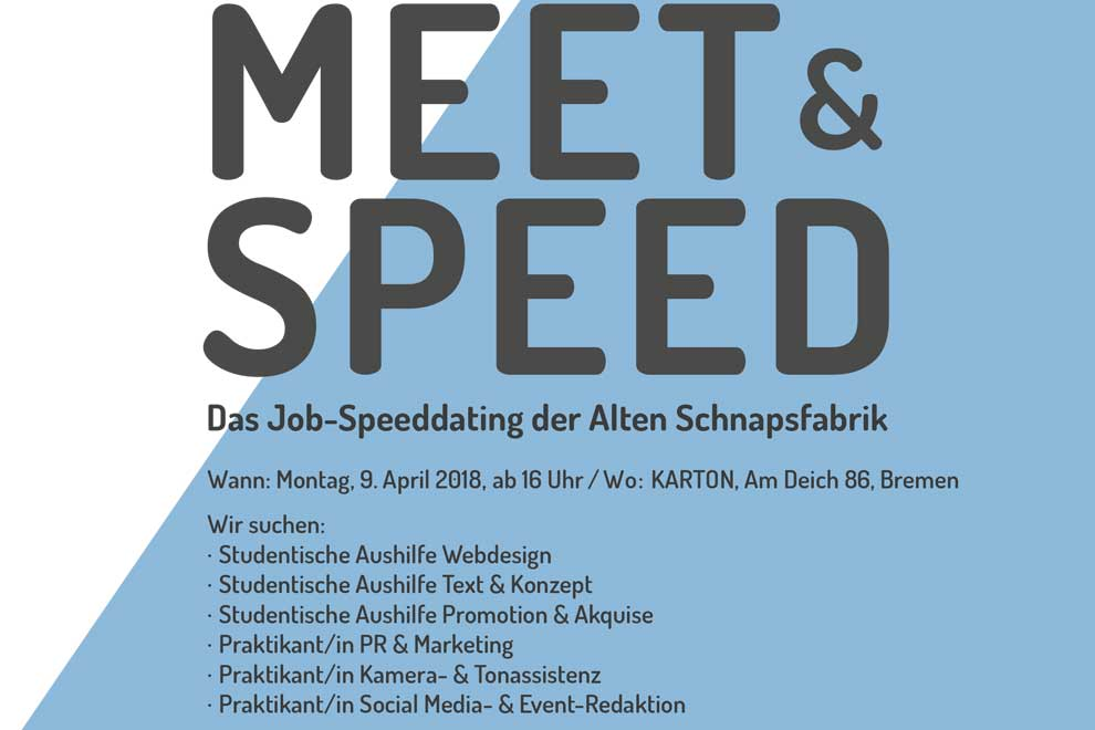 Alte-Schnapsfabrik Meet-and Speed (c) Alte-Schnapsfabrik