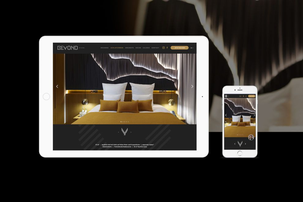 Digital Branding der Luxus-Residenz BEYOND mit Mobile-First Ansatz
