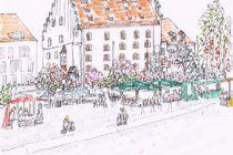 Skizze Ingolstadt Xinyi Liao