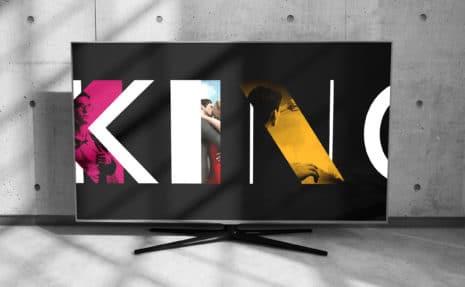 2 MDR Mitteldeutscher Rundfunk Corporate-Design Filmmagazin Kino Royal onair Design Start Opener Fernseher