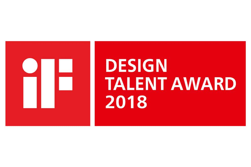 LOGO iF DESIGN TALENT AWARD 2018