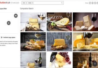 Shutterstock Composition Search
