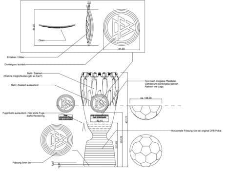 DFB-Vereinspokal der Junioren Details Quelle: MUTABOR Design