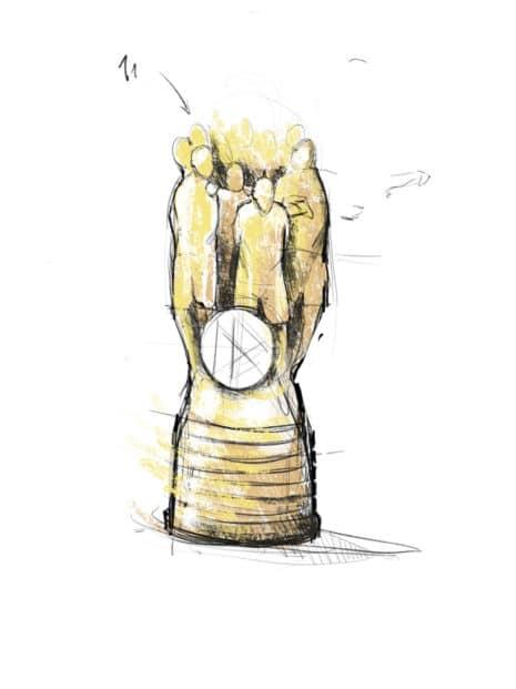 DFB-Vereinspokal der Junioren Skizze Quelle: MUTABOR Design