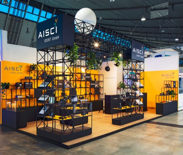 Messedesign: Neuer Messeauftritt für AISCI