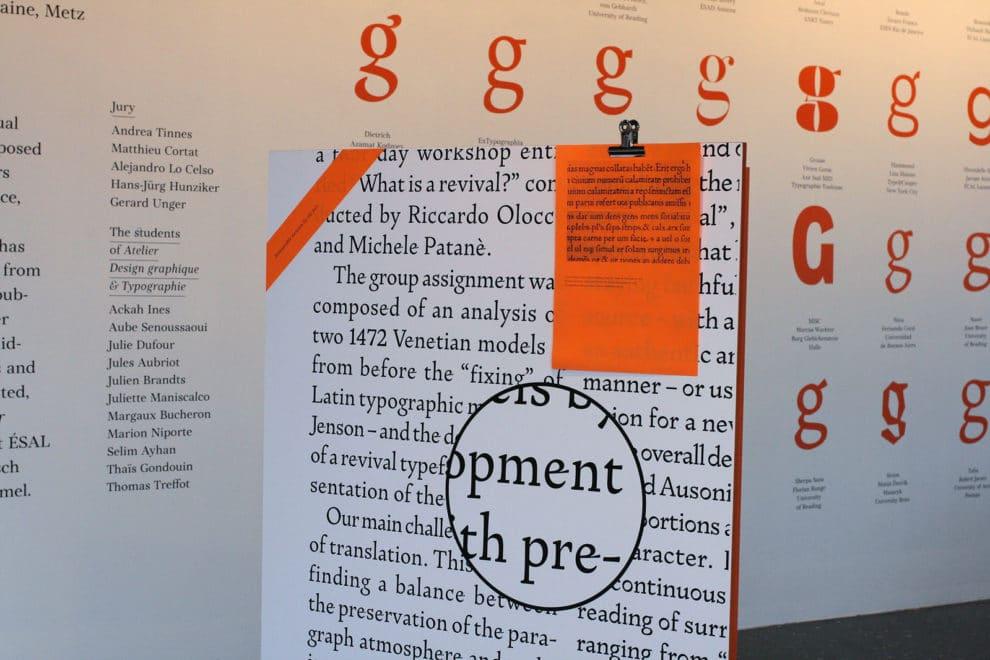 Pan-Optikum: Ein Blick in die Ausstellung. (c) Pangramme