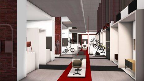 Das Red Dot Design Museum zeigt ausgezeichnete Produkte (Illustration: Corinna Bispinck)