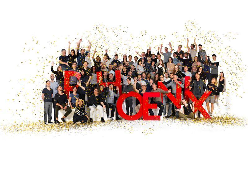 """Das Red Dot: Design Team of the Year 2018, Phoenix Design, präsentiert seine gestalterischen Leistungen in der Ausstellung """"PHOENIX – First. Now. Next."""""""