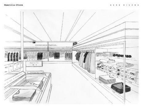 Sere Rivérs Alexander Wolf Guerilla-Store