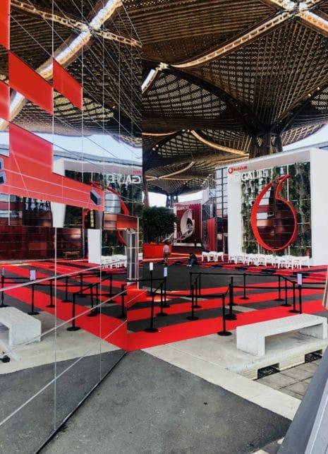 giga square Impression Vodafone Messe-Campus