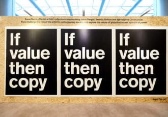 Gegen Artikel 13 If Value Then Copy by Superflex ( loaned for the exhibition) Create.Refresh exhibition in the European Parliament, 9 - 13 April 2018 Photos: Olivier Anbergen