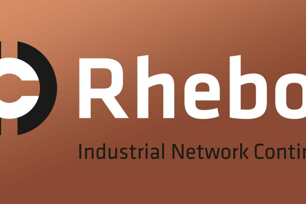 Rhebo Corporate Design Logo Kupfer Industrial Network Continuity