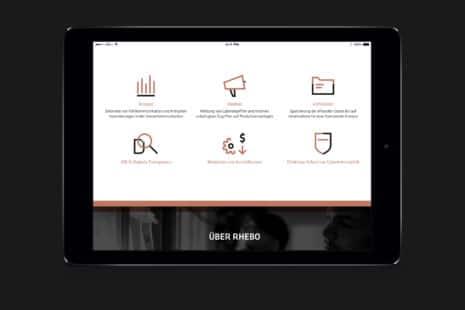Rhebo Corporate Design Infografik Monitoring Anomalieerkennung Cybersicherheit