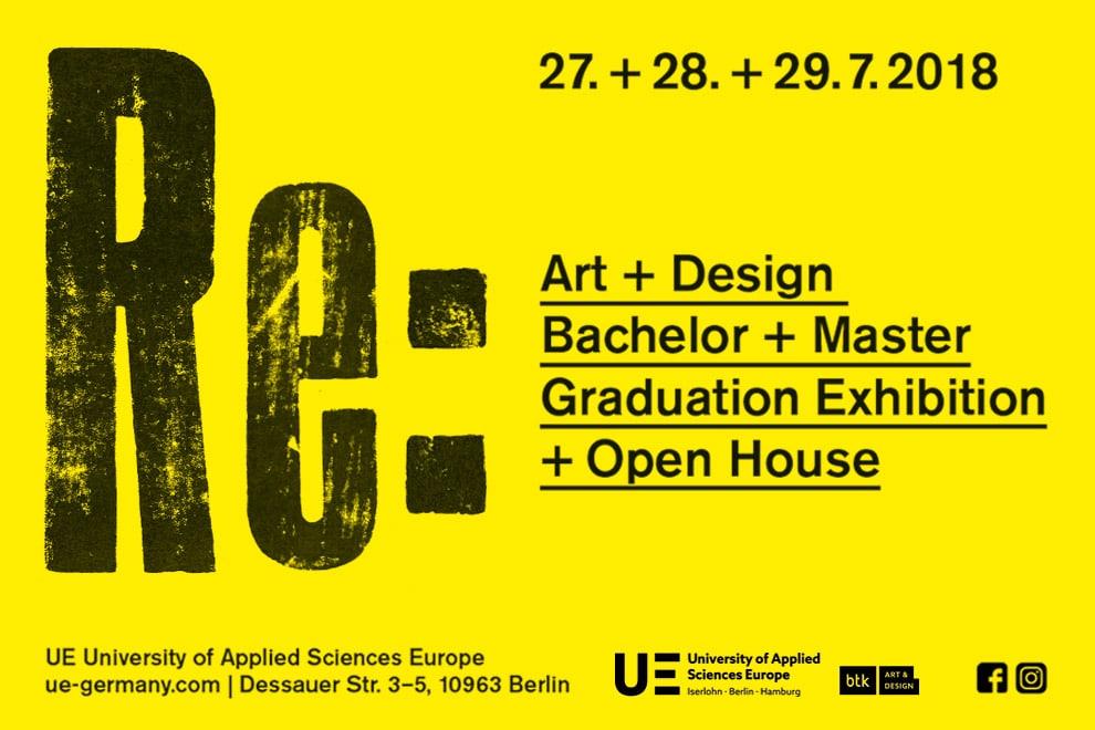 University of Applied Sciences Europe in Berlin Bachelor- und Masterausstellung